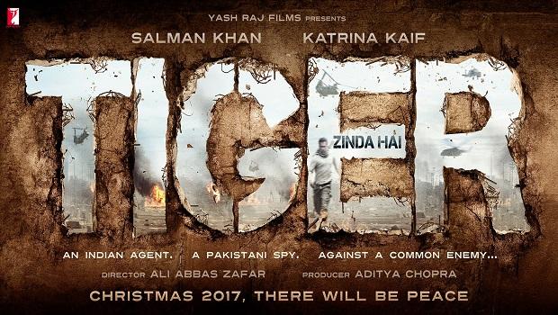 'टाइगर जिन्दा है' का पोस्टर रिलीज, सलमान के साथ होगी कैटरीना