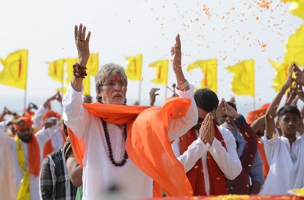 सरकार 3 में अमिताभ बच्चन ने गाई भगवान गणेश आरती