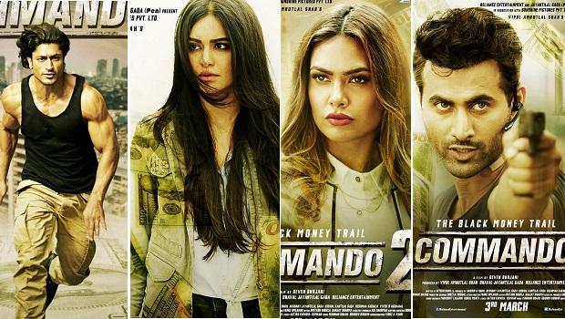 तमिल और तेलुगू में भी रिलीज होगी फिल्म 'कमांडो 2'