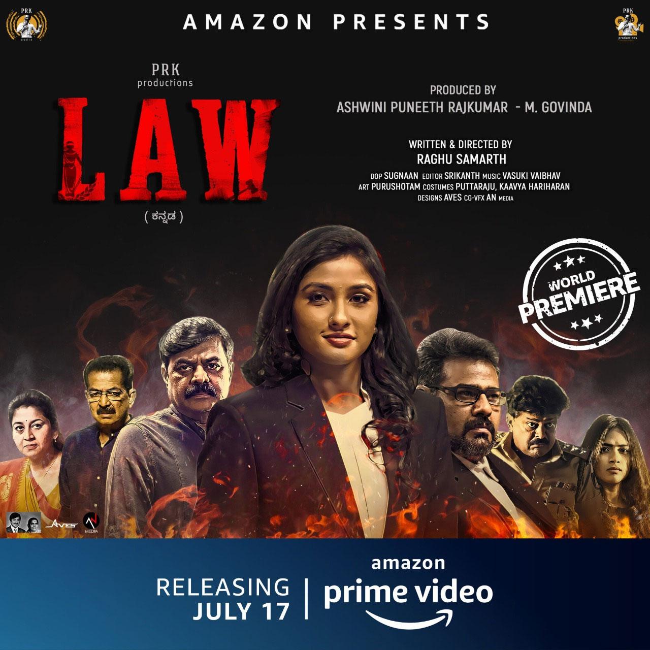 जानिए, रागिनी चंद्रन ने फिल्म डेब्यु के लिए अमेजन प्राइम वीडियो की फिल्म लॉ को क्यों ही चुना?