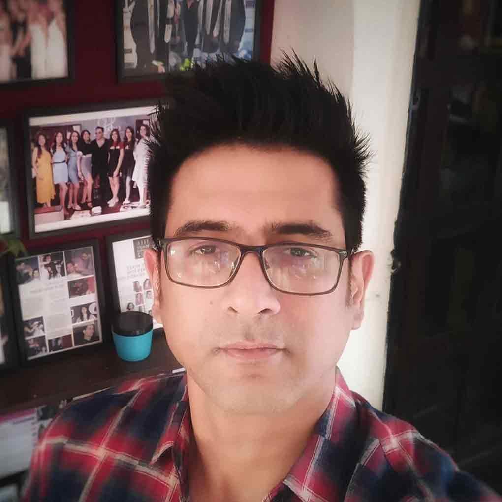 Actor Samir Sharma